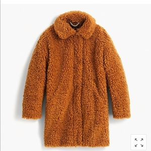 Jcrew Teddy Coat